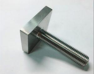 Nickel Cooper monel400 քառակուսի պտուտակներով ամրացված ոչ n04400