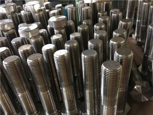 No.12-hex պտուտակներ ISO4014 կես թել A193 B8, B8M, B8T, B8C SS ամրացնող սարք