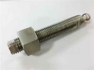 No.22-Custom CNC ֆրեզերային չժանգոտվող պողպատ գնդակի գլխիկ պտուտակով և ամրացմամբ