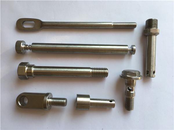 recision չժանգոտվող ամրացումներ cnc շրջադարձող մետաղական ամրացվող սարքերով