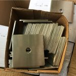 հարմարեցված super duplex s32205 (f60) չժանգոտվող պողպատ քառակուսի ափսեի լվացող / ամրացվող սարք