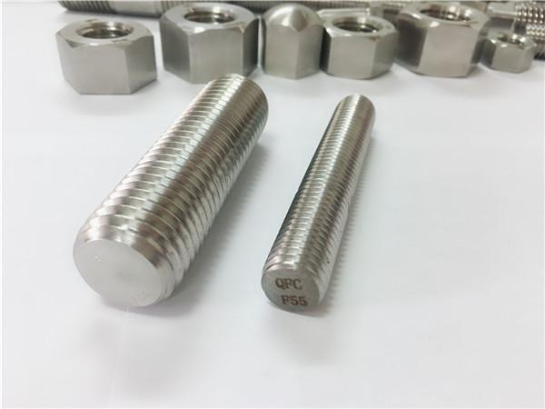 f55 / zeron100 չժանգոտվող պողպատից ամրացվող պարագաներ լրիվ ակոսավոր ձող s32760
