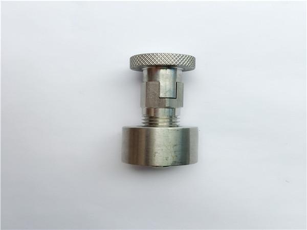 ss304, 316l, 317l, ss410 փոխադրման պտուտակ կլոր ընկույզով, ոչ ստանդարտ ամրացմամբ