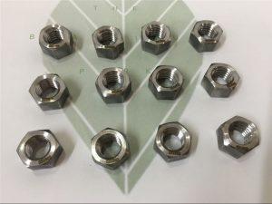 Duplex 2205 A182 F51 UNS S31803 EN1.4462 hex bolt DIN933 Ամրակ