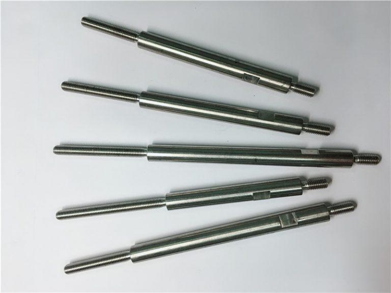 CNC ճշգրիտ մշակման չժանգոտվող պողպատից ակոսավոր ամրացումներ
