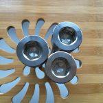 բարձրորակ ASEM hex վարդակից տիտան gr2 պտուտակ / պտուտակ / ընկույզ / լվացող մեքենա /
